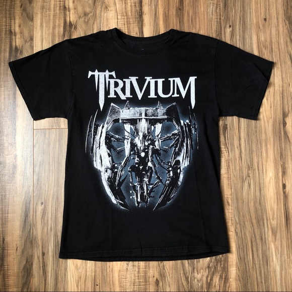 Hanes Other - Trivium T Shirt Medium Concert Album Metal